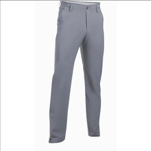 Gray Under Armour golf pants.